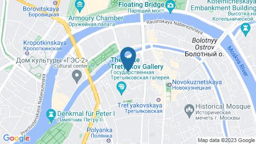 Villa Kadashi Boutique Hotel Map