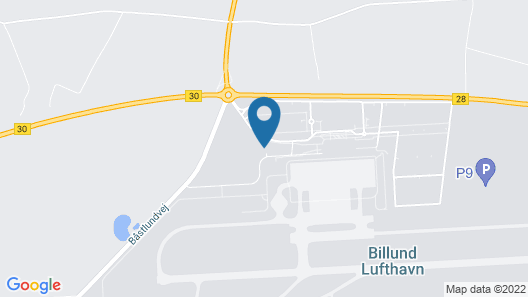 Zleep Hotel Billund Airport Map