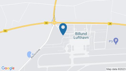 Zleep Hotel Billund Airport Map