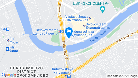 Novotel Moscow City Map