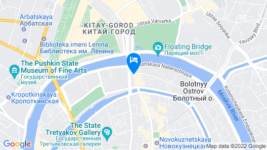 Hotel Baltschug Kempinski Moscow Map