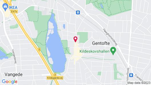Gentofte Hotel Map