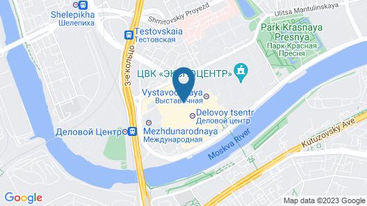 Sky Apartments Rentals Service Map