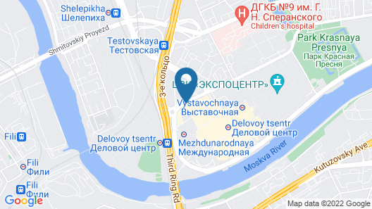 Apartment Moscow City 3003 Map