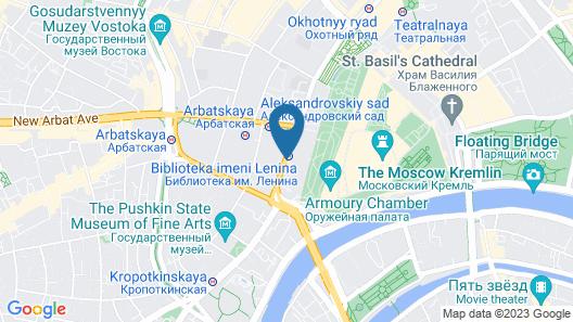 MIRROS Hotel Moscow Kremlin Map
