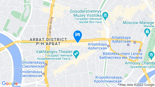 Pentahotel Moscow, Arbat Map