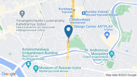 Apartmenty Uyut Galerea Map