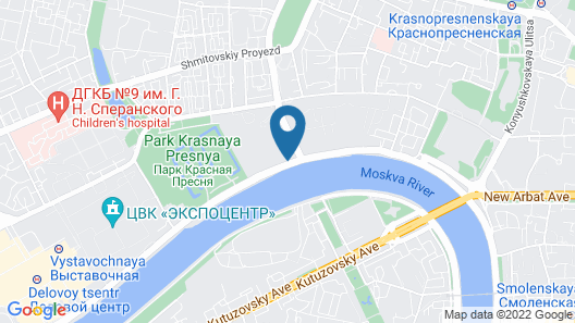 Crowne Plaza Moscow World Trade Centre Map