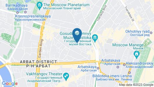 Arbat House Hotel Map
