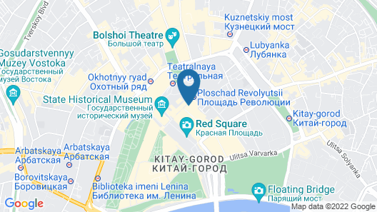 Hotel Nikolsky Red Square Map