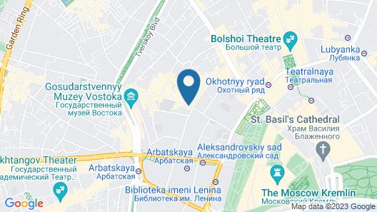 Assambleya Nikitskaya Hotel Map