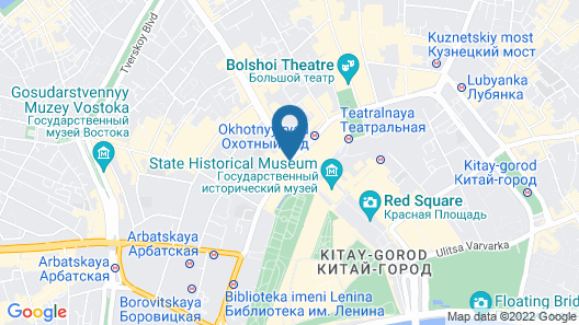 Hotel National, a Luxury Collection Hotel, Moscow Map