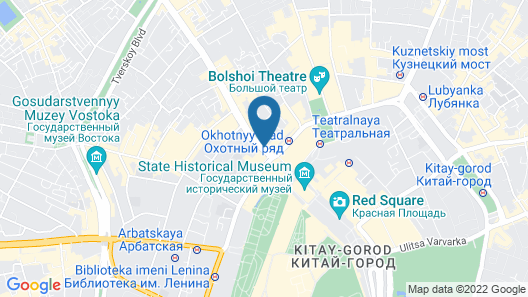 The Ritz-Carlton, Moscow Map