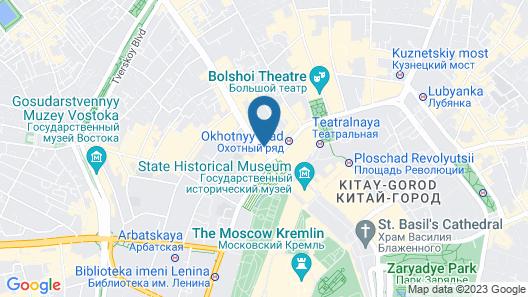 The Ritz-Carlton, Moscow Map