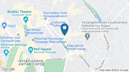 Hotel Maroseyka 2/15 Map