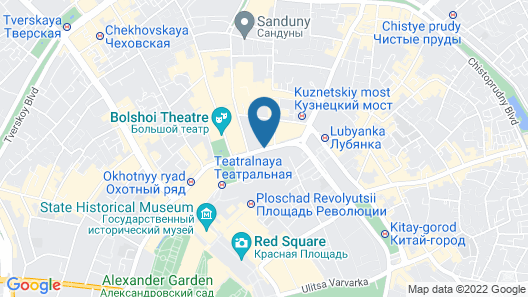 Ararat Park Hyatt Moscow Map