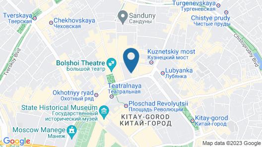 Matreshka Hotel Map