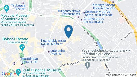 PR Myasnitsky Boutique Hotel Map