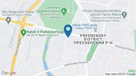 Apelsin Expo on Krasnaya Presnya Map