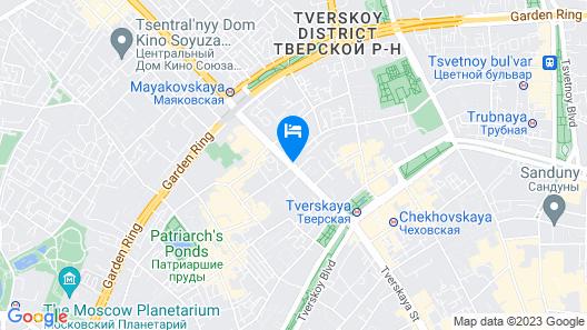 InterContinental Moscow - Tverskaya, an IHG Hotel Map