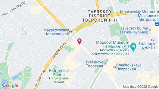Marriott Moscow Grand Hotel Map