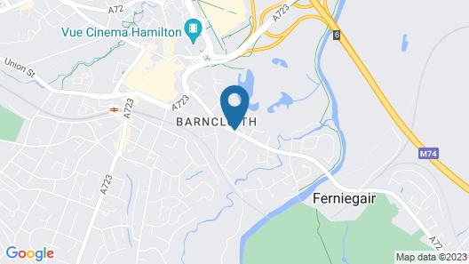 Avonbridge Hotel Map