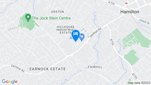 Hamilton Executive Apartment Map