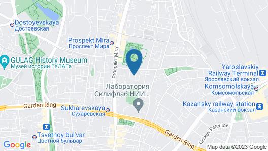 CityInn at Sukharevskaya Map