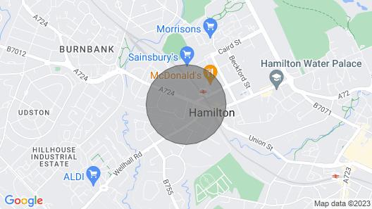 Klass Living - West Apartment, Hamilton - Book Direct for Best Rates Map