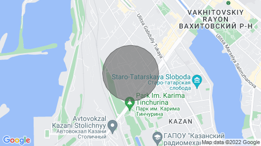Apartment in Kazan 10 Minutes From the Center Map