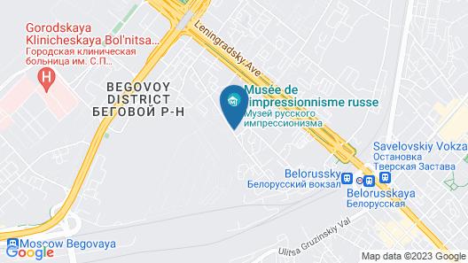 Lakshmi Apartment Belorusskaya Map