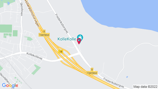 Kollekolle Hotel & Conference Center Map