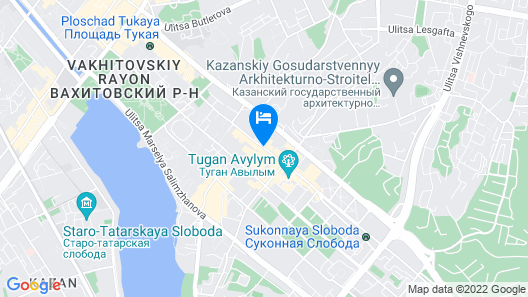 Suleiman Palace Hotel Map