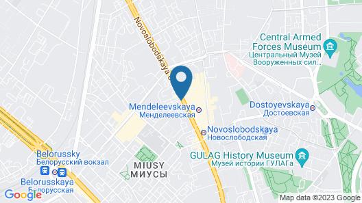 Novotel Moscow Centre Map