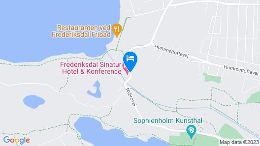 Frederiksdal Sinatur Hotel & Konference Map