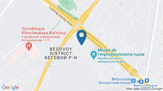 Inndays Belorusskaya Map