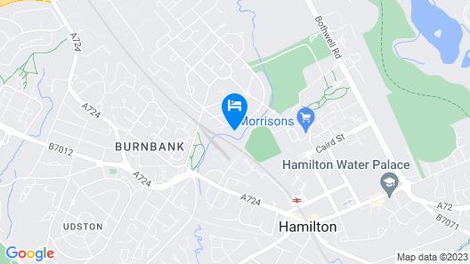 Klass Living - Kenmar House, Hamilton Map