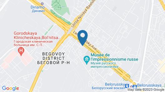 Chekhov House Hostel & Hotel Map