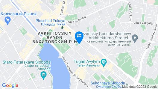 Nice Hostel on Peterburgskaya Map