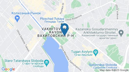 Bilyar Palace Hotel Map