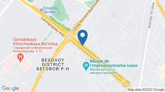 Legendary Hotel Sovietsky Map