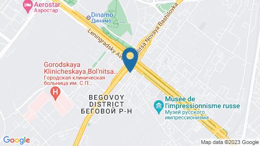 Apartment at Leningradskiy pr 29 bld 1 Map