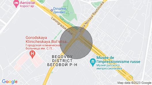 Royal Suite Apartments Map