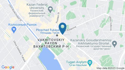 Grand Hotel Kazan Map