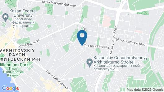 Park Inn by Radisson Kazan Map