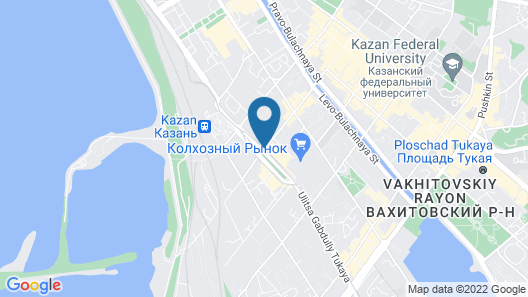 Don Kikhot Hotel Map