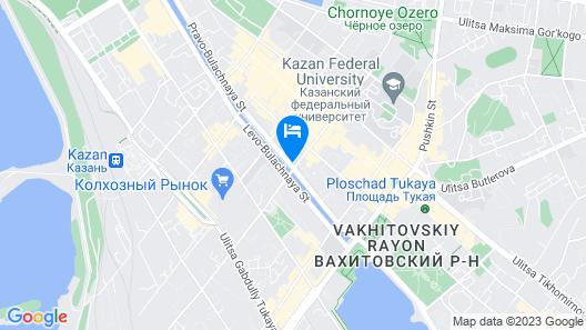 ibis Kazan Map