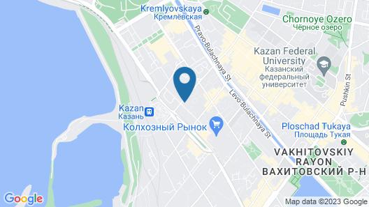 Ramada by Wyndham Kazan City Center Map