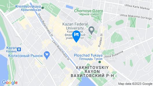 Hotel Kaganat Map