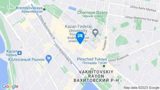 Khanuma Hotel Map
